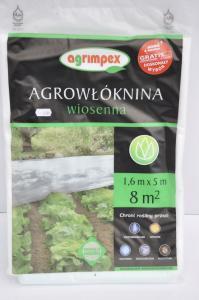 Agrowłóknina wiosenna 1,6 x 5m Agrimpex