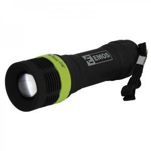 Latarka 1W LED z zoomem