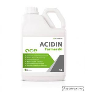 Acidin farmerski preparat zakwaszający, dezynfekcja
