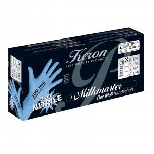 Rękawice nitrylowe specjalne do dojenia XL