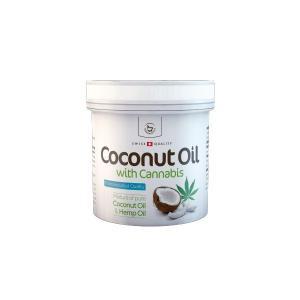 Olejek kokosowy z konopią SZWAJCARSKI 260 ml