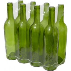 Butelka na wino oliwkowa 0,75L 8szt