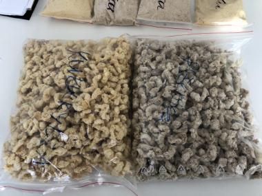 eksturdowany material paszowy,zboże, łubin, bobik, kukurydza,