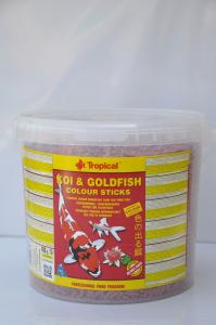 Pokarm dla ryb KOI GOLDFISH colour 450g 5L Tropical