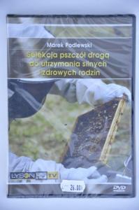 """""""Selekcja pszczół drogą do utrzymania silnych i zdrowych rodzin"""" Marek Podlewski DVD"""