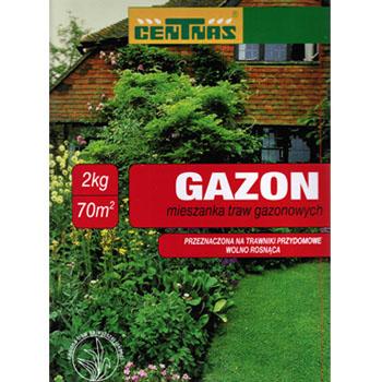 Mieszanka trawnikowa Centnas Gazon wolnorosnąca 2kg