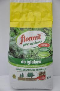 Nawóz Organiczno- Mineralny do Iglaków Florovit 1,5kg