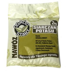 Siarczan potasu NISKI indeks solny 2kg