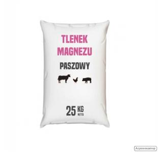 Tlenek magnezu paszowy 25 kg - magnezyt kalcynowany