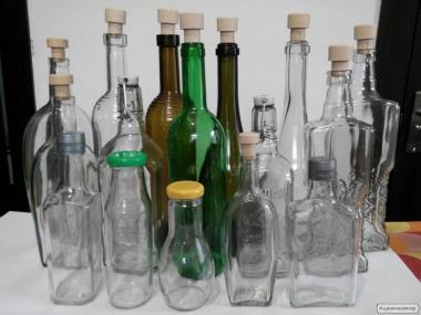 Szklana butelka do wódki