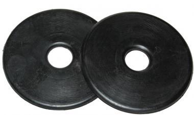 Ślinianki gumowe czarne