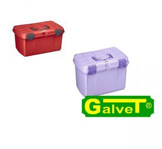Pudełko Arrezzo czerwone/fioletowe