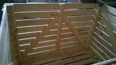 Kontener drewniany