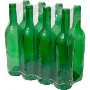 Butelka na wino zielona 0,75L 8szt
