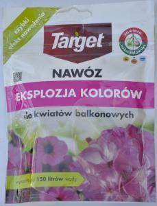 Nawóz do Kwiatów Balkonowych EKSPLOZJA KOLORÓW Target 150g