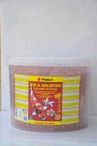 Pokarm dla ryb KOI GOLDFISH colour 900g 11L Tropical