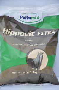 Polfamix Hippovit EXTRA KONIE 1kg – mieszanka paszowa