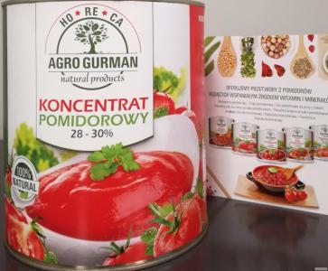 Koncentrat pomidorowy brix 28-30%