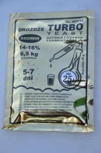 Drożdże Turbo do szybkiej i czystej fermentacji 95g