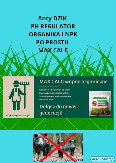Nawóz wapniowy, bezpiecznie odkwasza juz po 14 dniach, MAX CALC