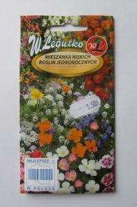 Mieszanka niskich roślin jednorocznych W.Legutko
