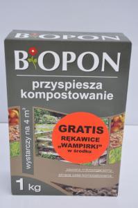 Nawóz przyśpieszający kompostowanie Biopon 1 kg