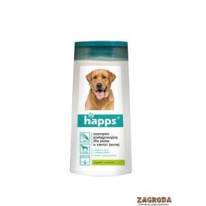 Szampon pielęgnacyjny dla psów o sierści jasne HAPPS