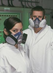 Zestaw do ochrony dróg oddechowych MSA