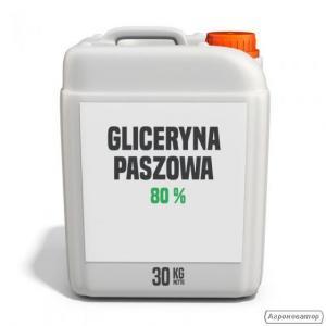 Gliceryna paszowa 80% kanister 30 kg