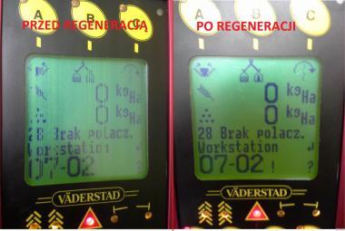 Vaderstad Rapid Wyświetlacz Naprawa Sterowników