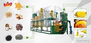 Linia do produkcji oleju roślinnego