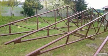 Obora, Chlewnia, Wiata rolna.. Konstrukcja Stalowa 480m2 (12 x 40mb.)