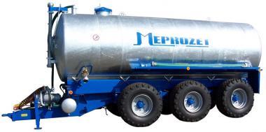 Aplikacja nawozów mineralnych przyczepiany