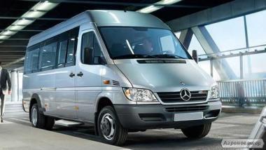 Transport minibusem Mercedes Sprinter New
