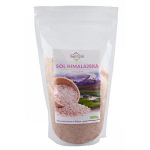 Sól HIMALAJSKA różowa drobna 1kg