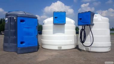 Zbiornik JFC (ON) 2500 L dwupłaszczowy na paliwo, olej napędowy - CPN