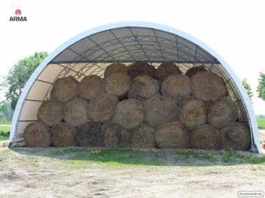 hala tunelowa łukowa magazyn wiata garaż konstrukcja 12x40