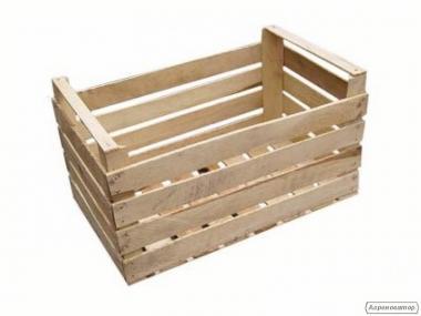 Skrzynia drewniana deskowa