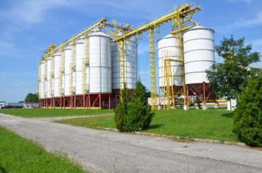 Silosy stożkowe 3600 m3 - 12 sztuk wraz z linią transportową