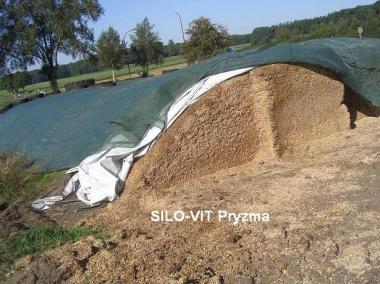 Folie kiszonkarskie SILO-VIT Pryzma biało-zielona 12x400m