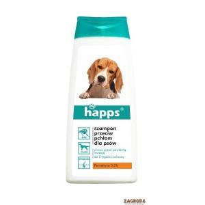 Szampon przeciw pchłom dla psów HAPPS