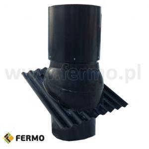 Komin wentylacyjny fi 570mm izolowany PU do budynków inwentarskich
