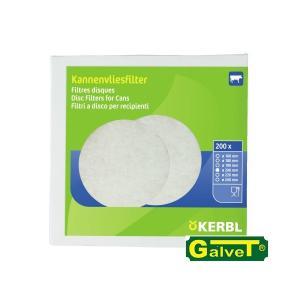 Krążkowe filtry do mleka 125mm - 200szt nr 487006T