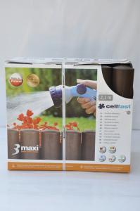 Palisada Ogrodowa Cellfast 3 MAXI 2,1m brąz