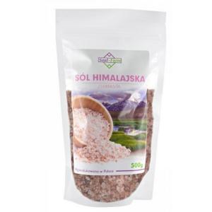 Sól HIMALAJSKA różowa gruba 500g