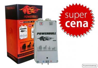Pastuch elektryczny Powerbull 400A + zasilacz