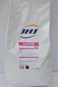 Baracid – zakwaszacz do pasz dla trzody chlewnej 4kg (mieszanka uzupełniająca mineralna)