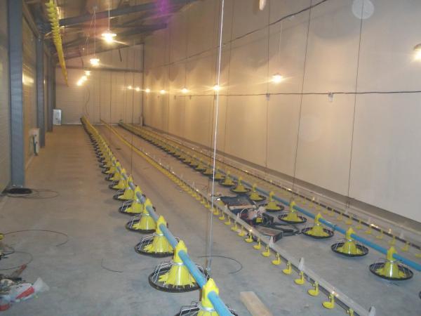 Напольное оборудование для выращивания бройлеров 94