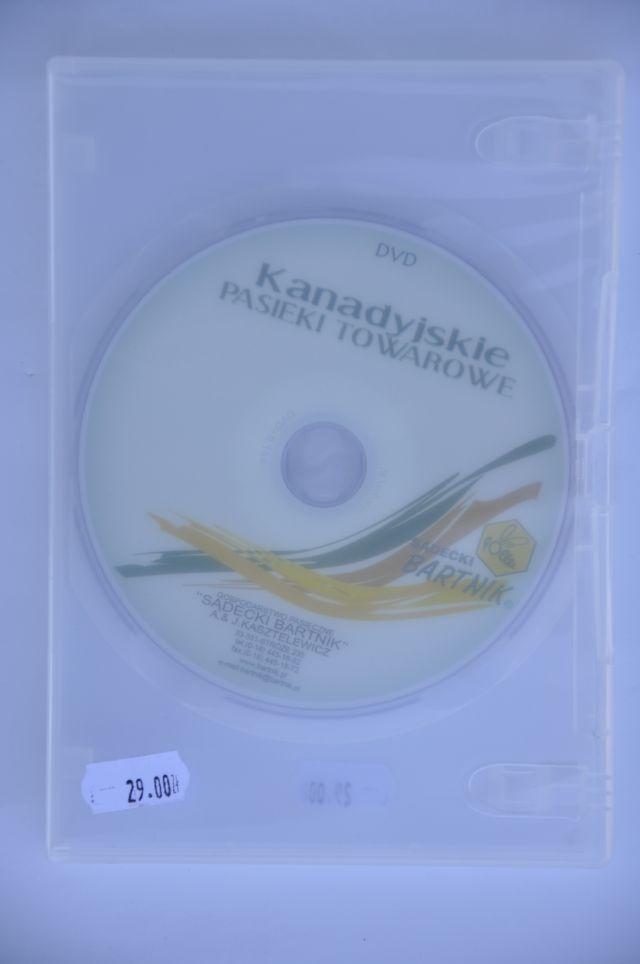 """""""Kanadyjskie pasieki towarowe"""" DVD"""
