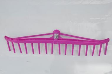 Grabie plastikowe do siana bez trzonka 16-zębów